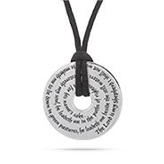 The Lord is My Shepherd Prayer Pendant