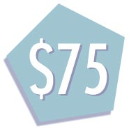 $75 EvesAddiction.com Gift Card