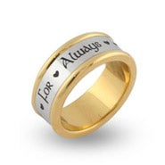 For Always Engravable Message Band