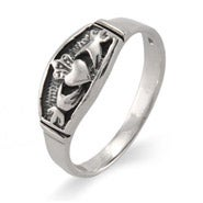 Petite Sterling Silver Claddagh Ring