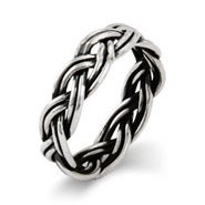 Sterling Silver Classic Braided Band