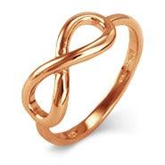 Petite Rose Gold Infinity Ring