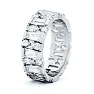 Multi Shape Cubic Zirconia Eternity Band