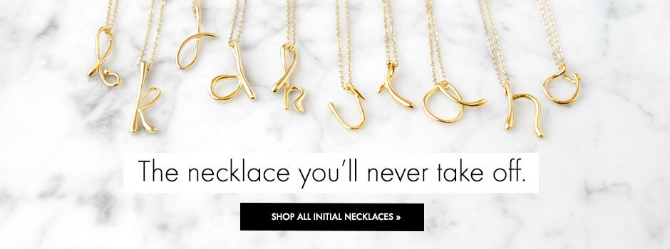 Shop All Initial Necklaces