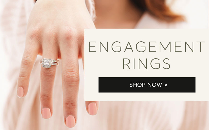 Engagement Rings. Shop Now.