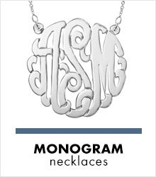 Shop Monogram Necklaces