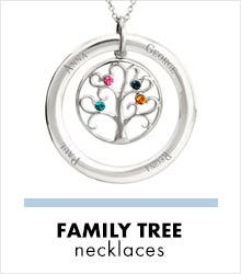 Shop Family Tree Necklaces