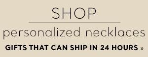 Shop Personalized Necklaces