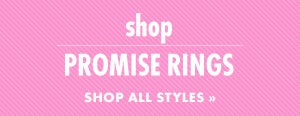 Shop Promise Rings for Valentine's Day