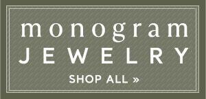Shop Monogram Necklaces for Graduation