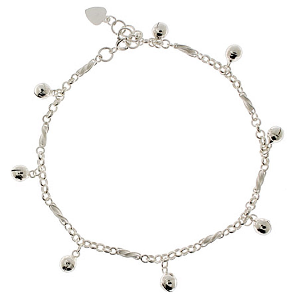 allure silver ankle bracelet real coulisse bracelets anklet tresor women sterling paris