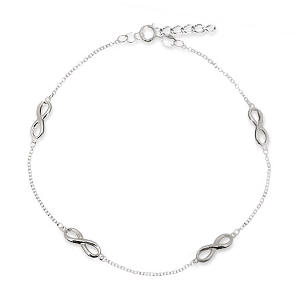 product mariner bracelet chain ankle link by jewels white karat yellow gold anklet