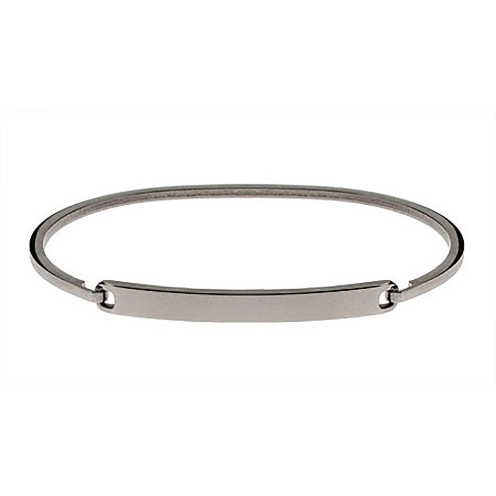 eve addiction bracelet silver bracelets thin id personalized engravable bangle s bangles simple ladies