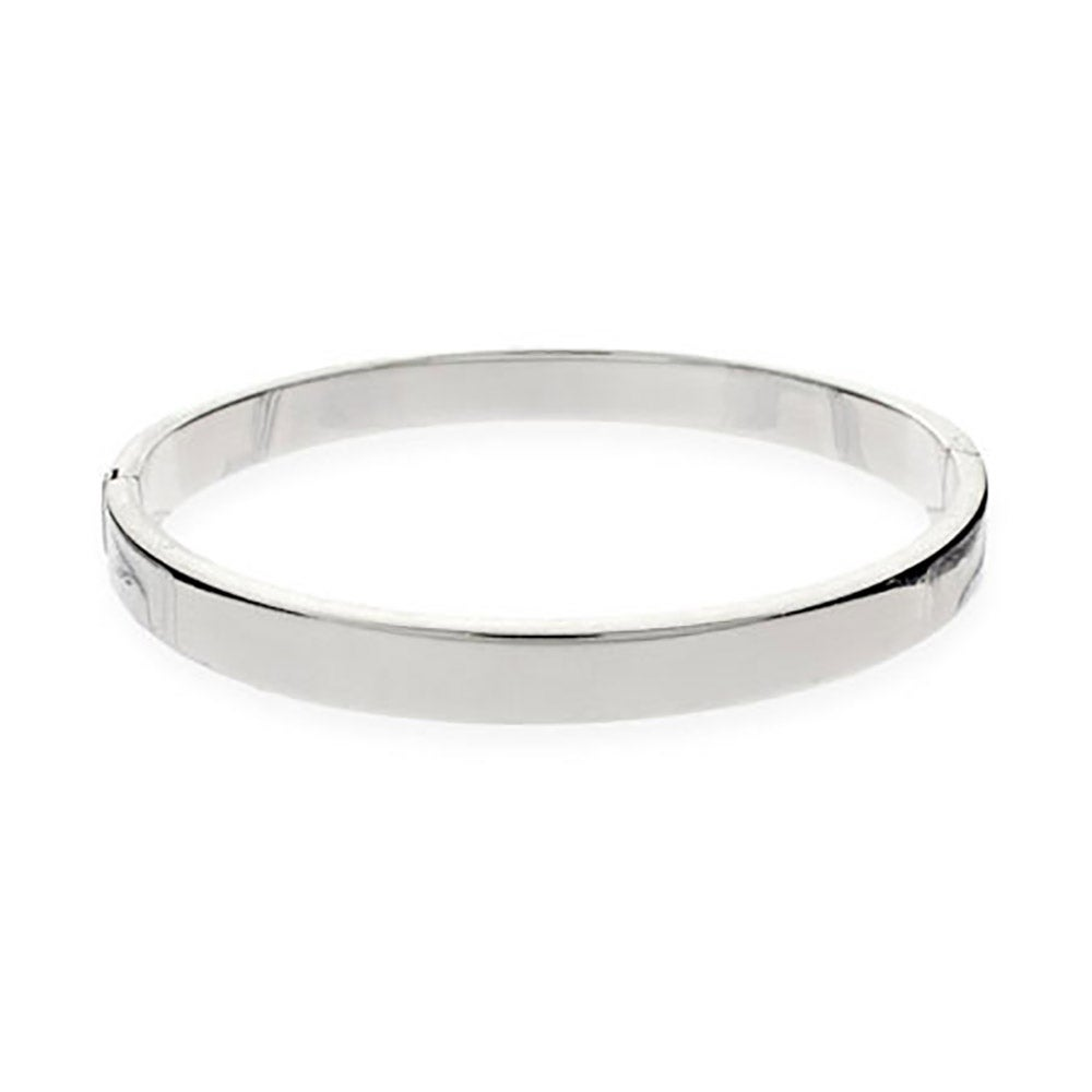 sterling smooth open pin bangles slane online silver shop bracelet hinged bangle