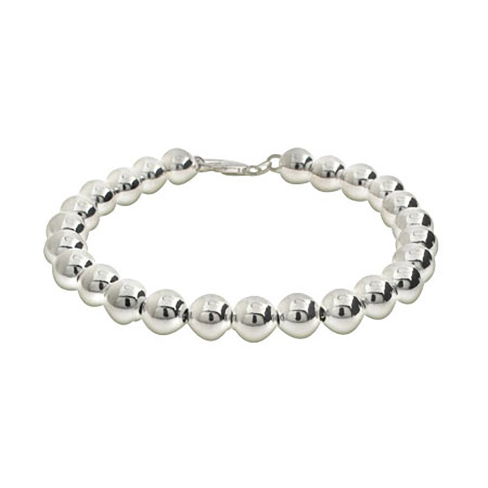 sterling product beaded bead braid silver vonyx bracelet img
