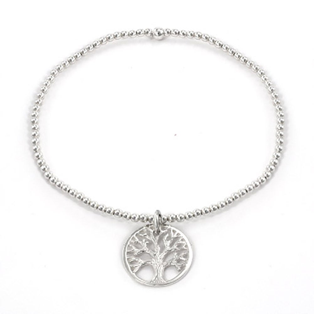 of tree jewellery life rose bracelet azendi vermeil