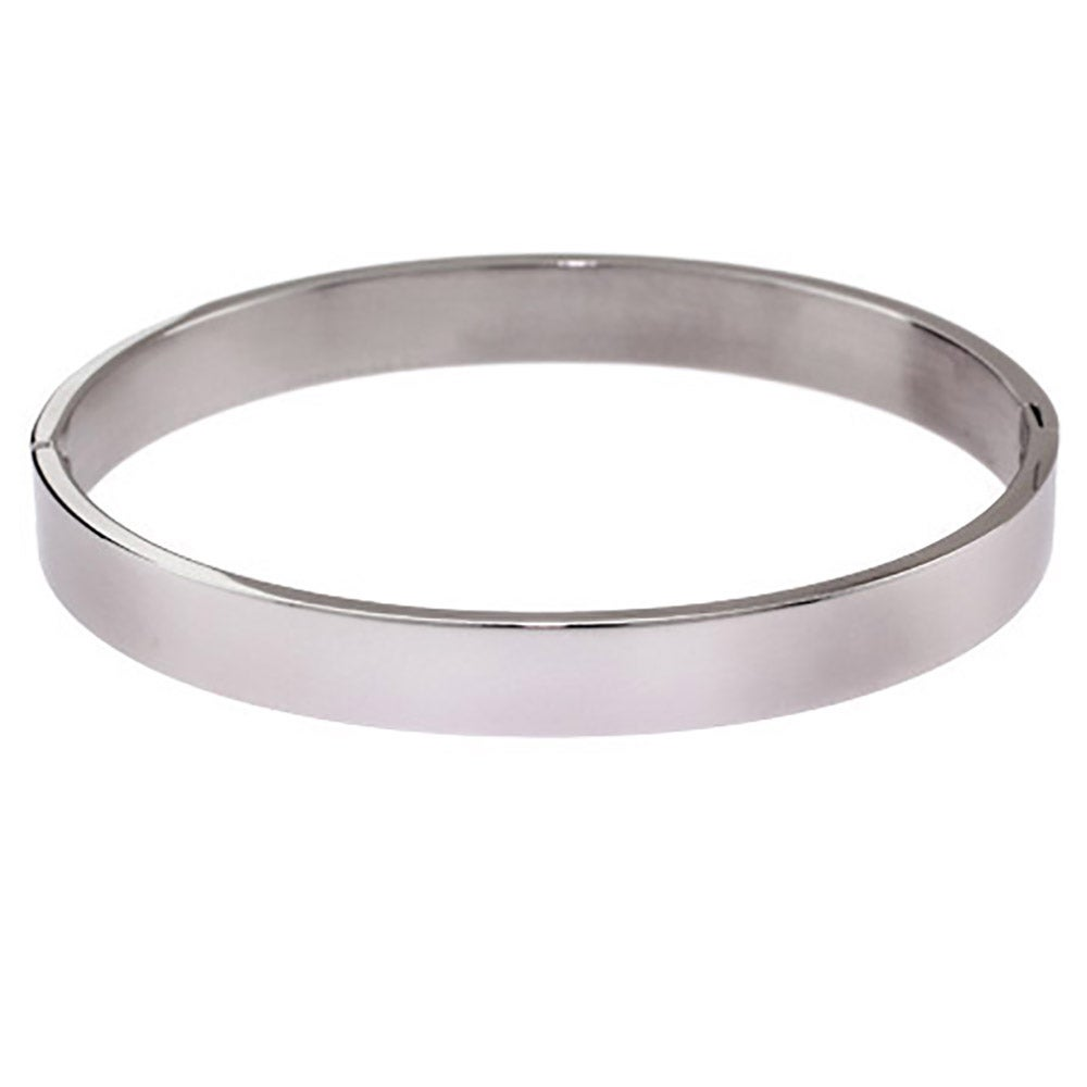 Confirmation Heart Charm On A 7 1//4 Inch Oval Eye Hook Bangle Bracelet
