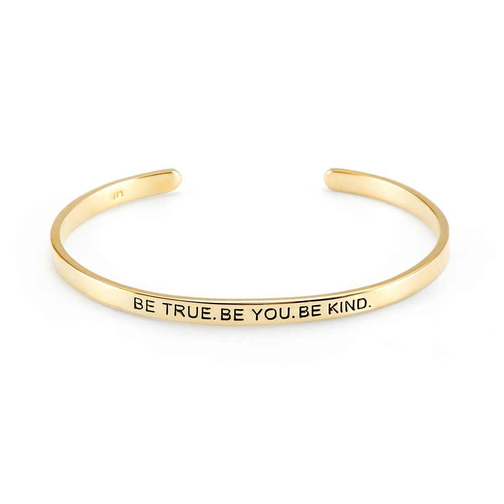 cuff inscribed buy alloy women for golden toniq text bracelet p at