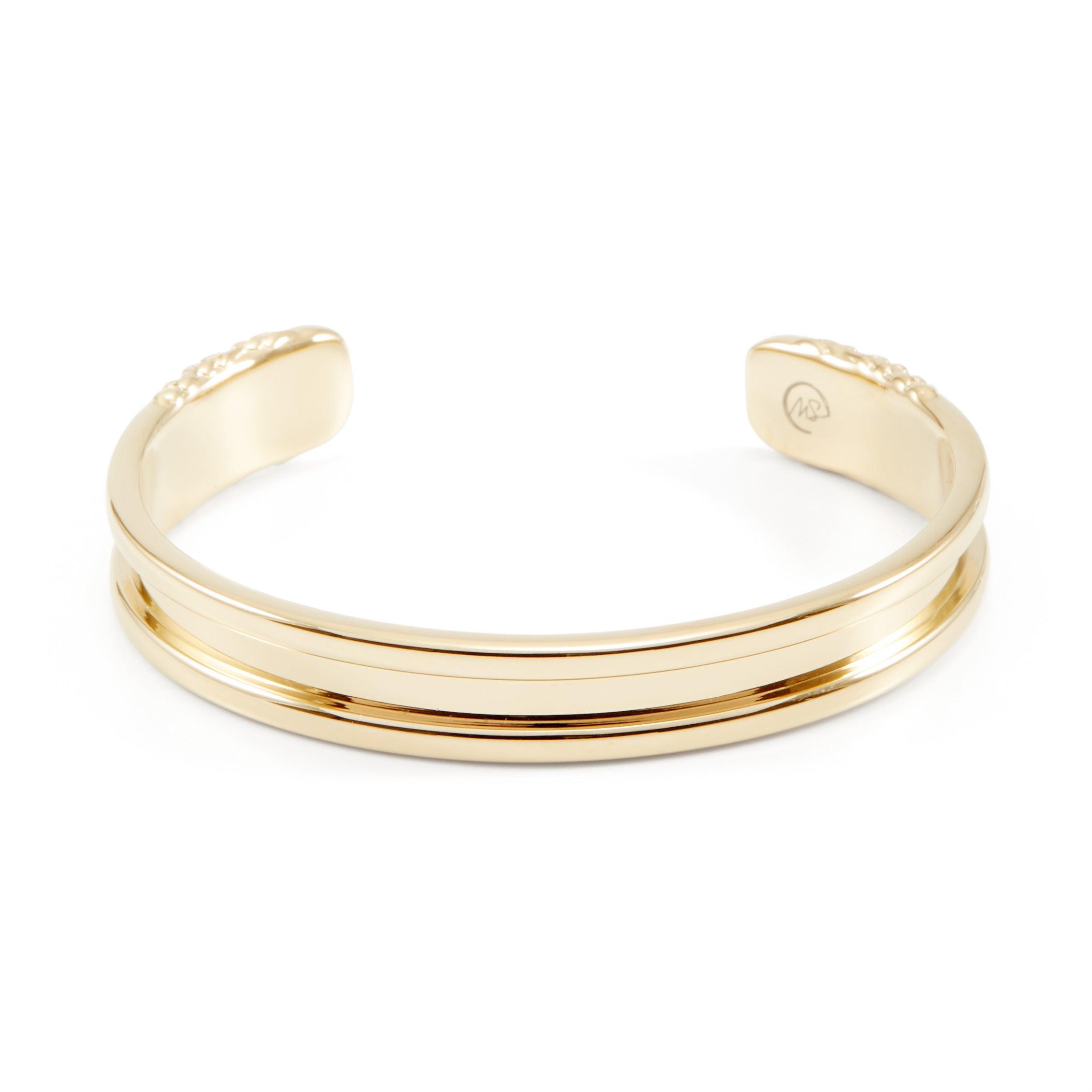 Gold Hair Elastic Cuff Bracelet  2e6cdb6eb3c