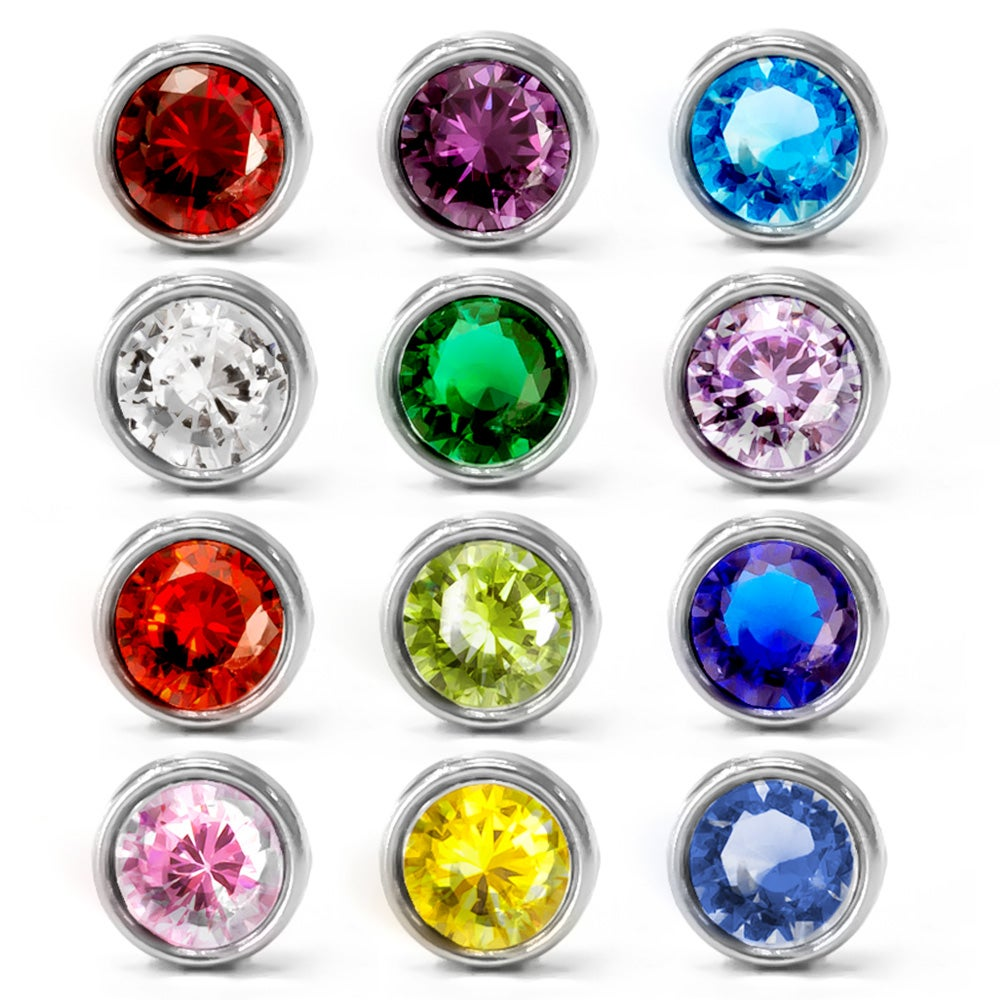 Birthstone floating charms eve 39 s addiction for Birthstone beads for jewelry making