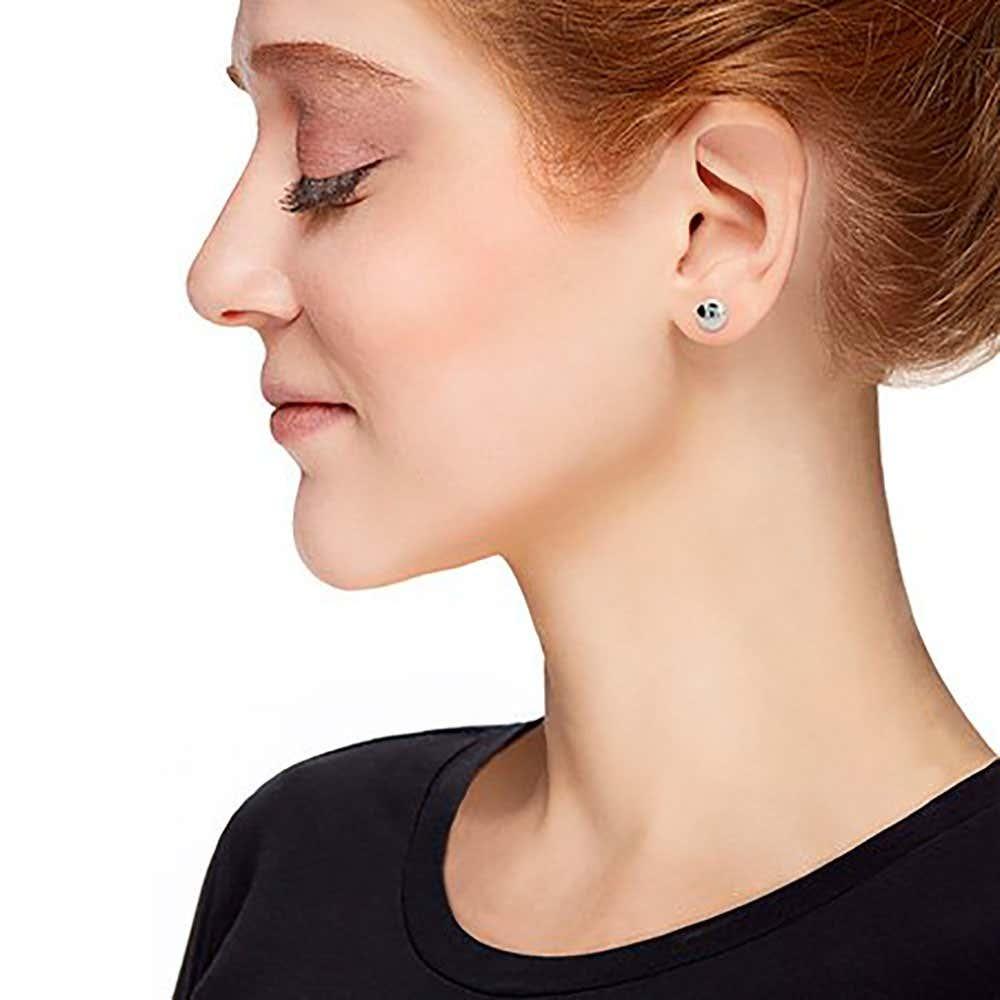 c1e29c416 Designer Style 8mm Sterling Silver Bead Earrings