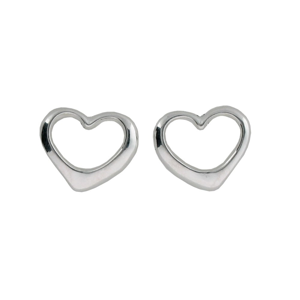 addiction s earrings sterling shaped stud eve heart silver
