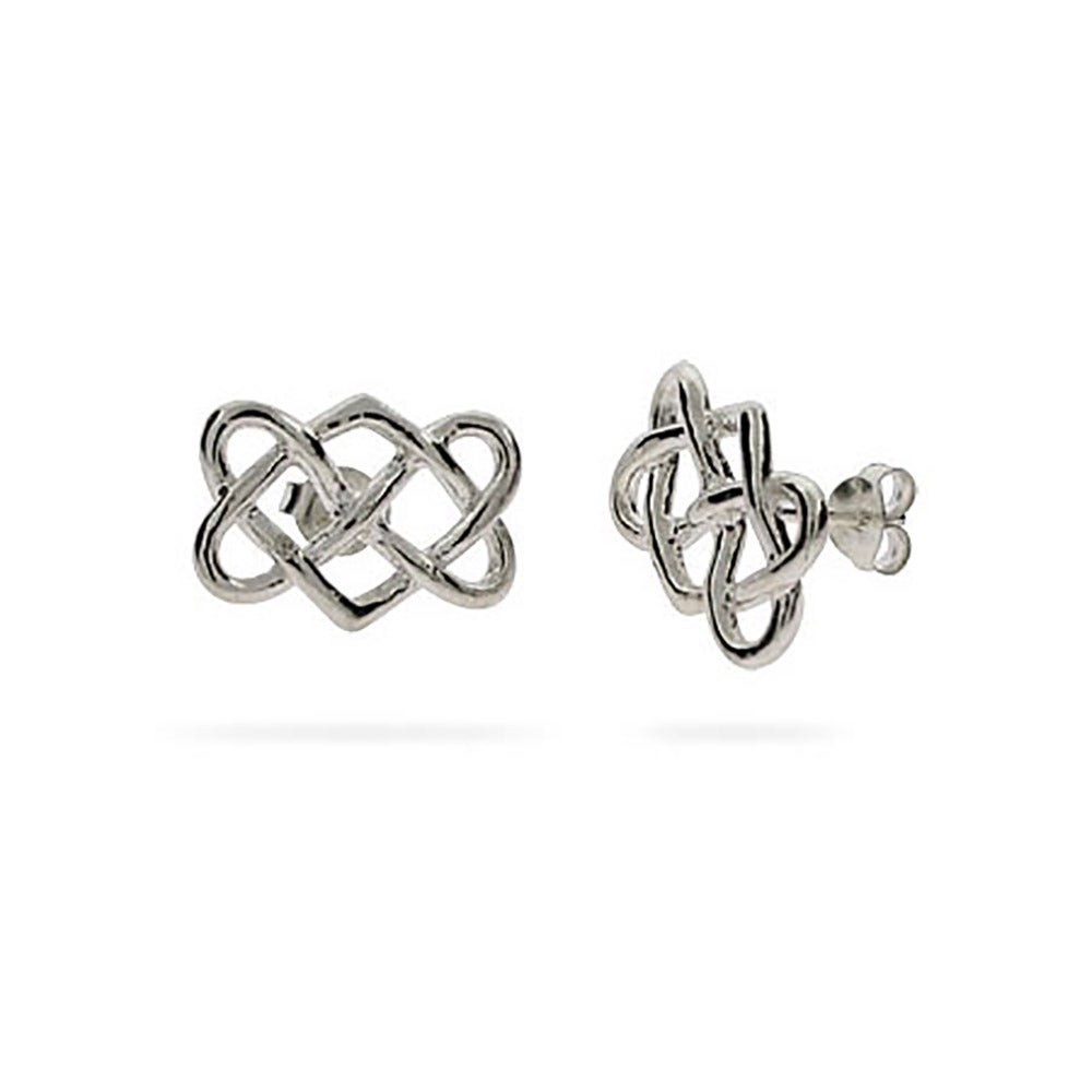 your knot jewellery gold celtic earrings dublin door from product to