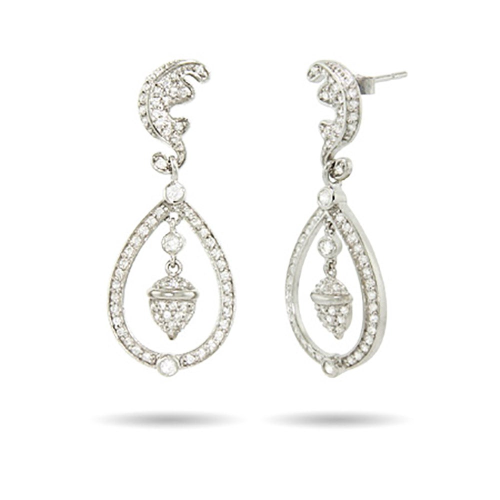 Royalty Inspired Sterling Silver Royal Wedding Earrings  478d11b64a64