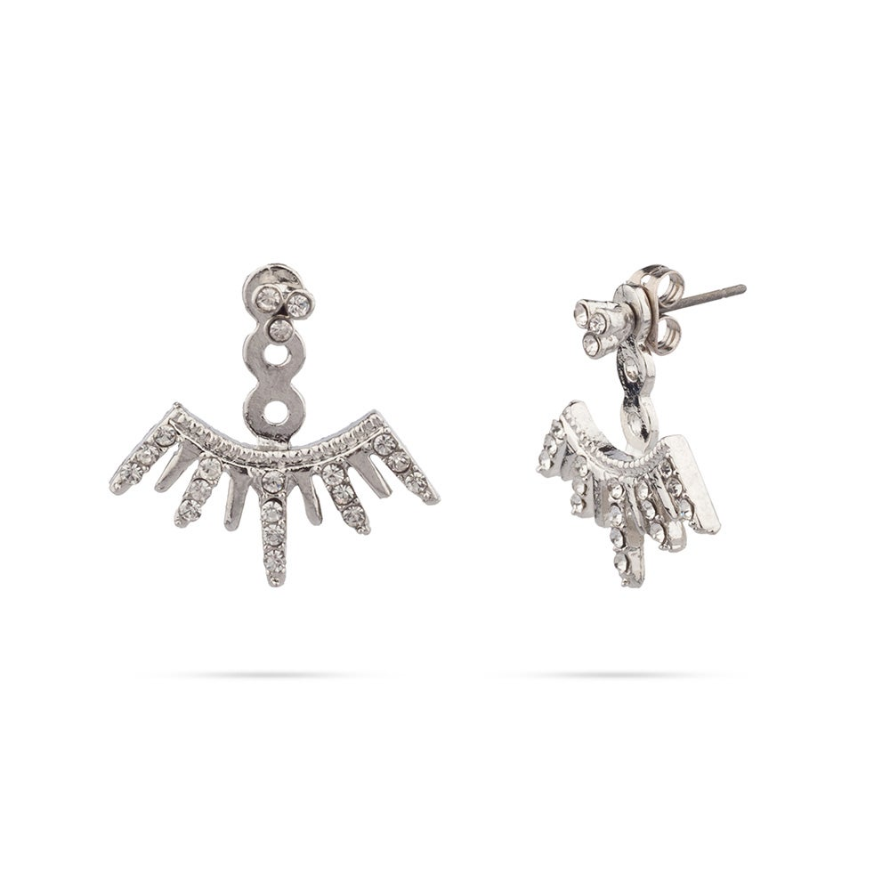 Shashi Arushi Earring Jackets In Sterling Silver Eve S Addiction