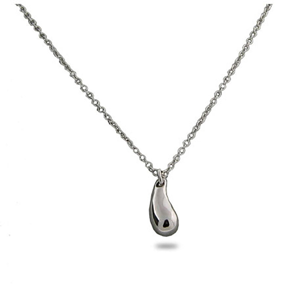 designs dsc modern necklace eles products rustic teardrop