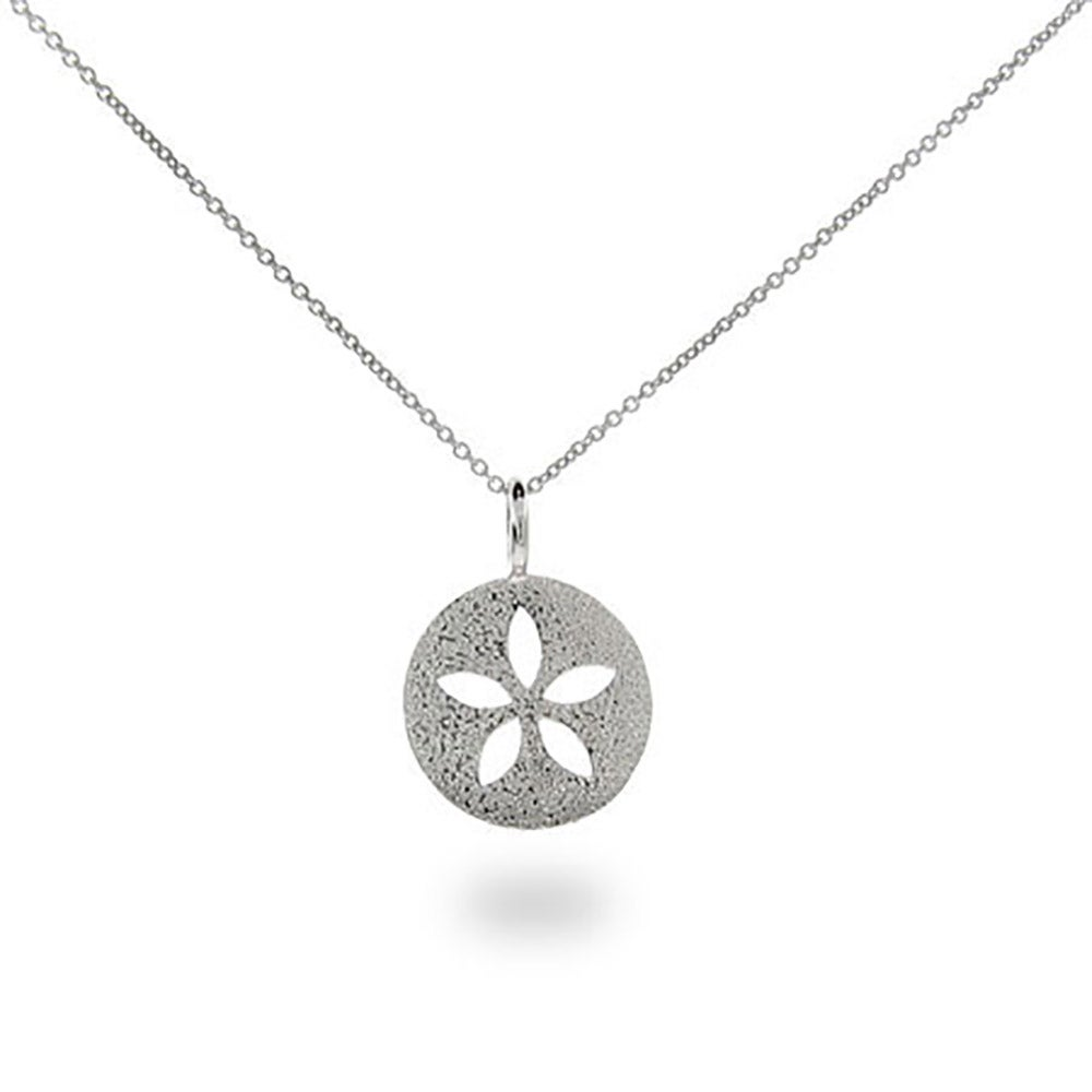 catalog necklaces sandollar sand silver necklace pendant cape sterling cod dollar dancing online index nautical starfish