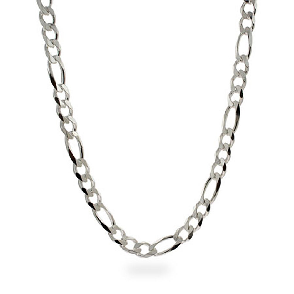 men 39 s sterling silver figaro necklace
