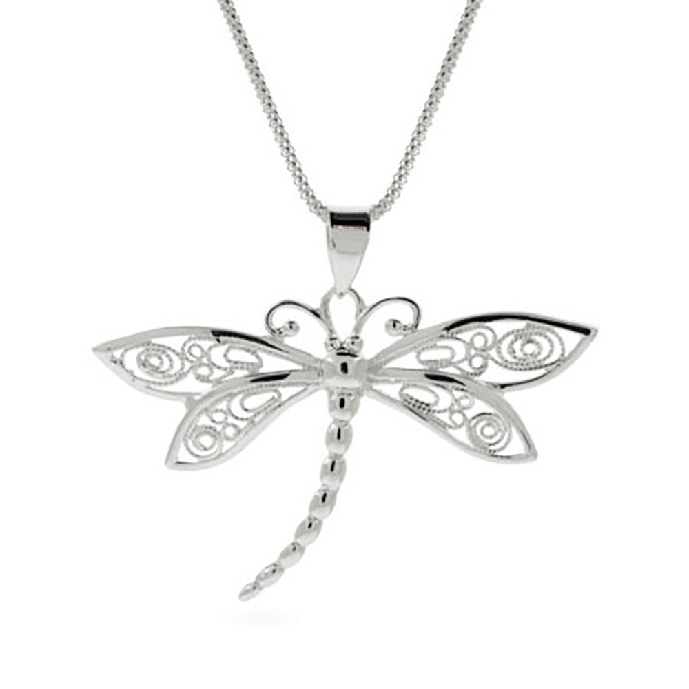 monroe tiny teeny alex dragonfly pendant necklace