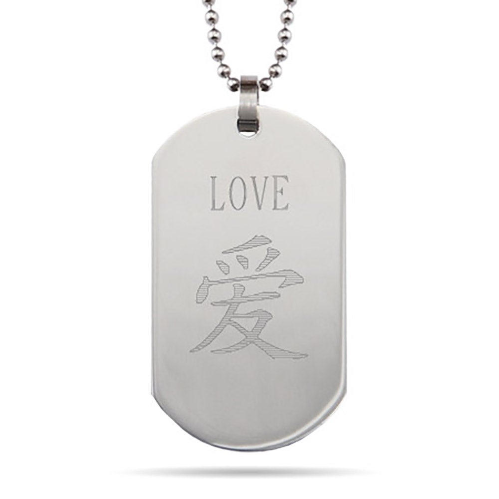sterling lockets personalised tag buddha silver dog
