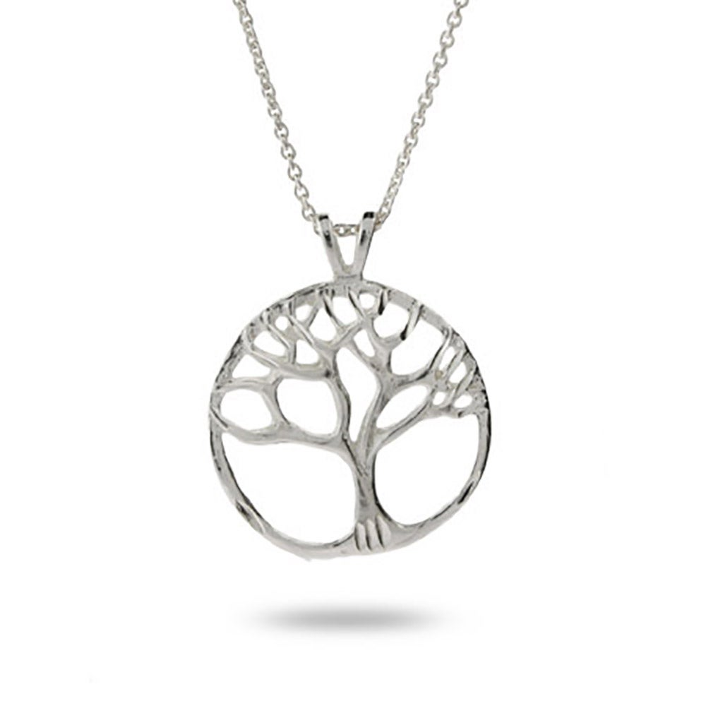 Silver tree of life pendant eves addiction sterling silver tree of life pendant mozeypictures Gallery