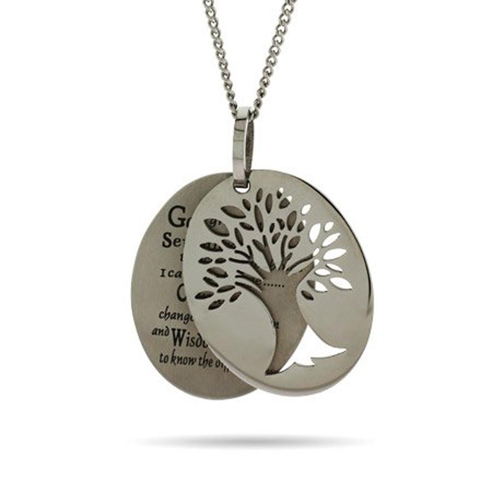 life free silver names sterling necklace with personalised tree of delivery