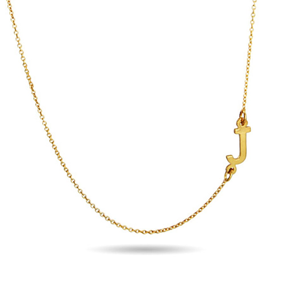necklace cargo initial sideways precious