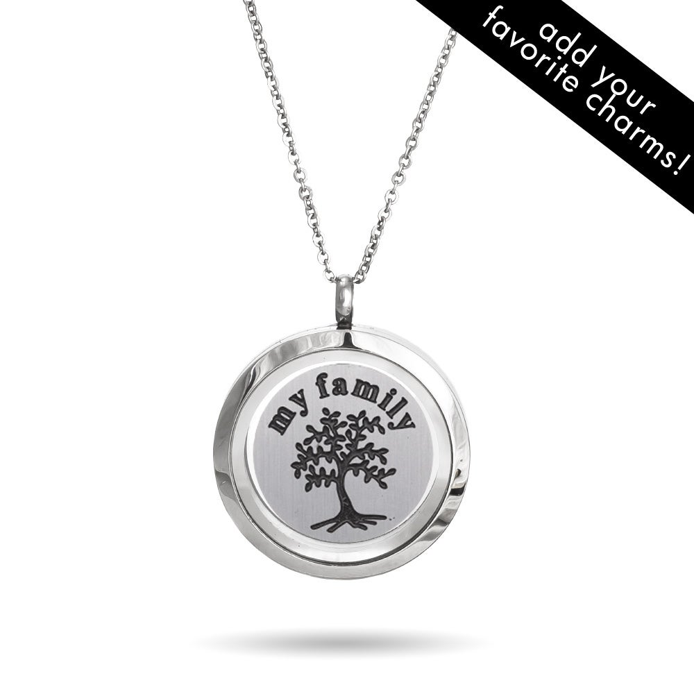 design locket letter with product tree original lime limetreedesign lockets oval by silver