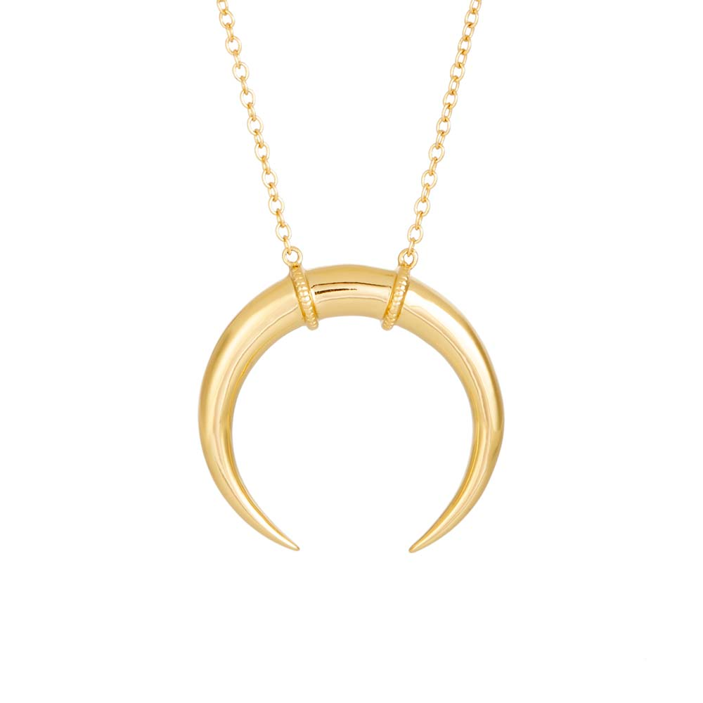 co necklaces wanderlust layered constellation gold necklace wanderlustandco products crescent