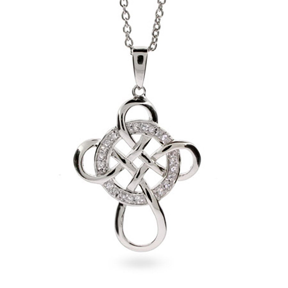 Of being cz celtic infinity cross pendant wheel of being cz celtic infinity cross pendant biocorpaavc