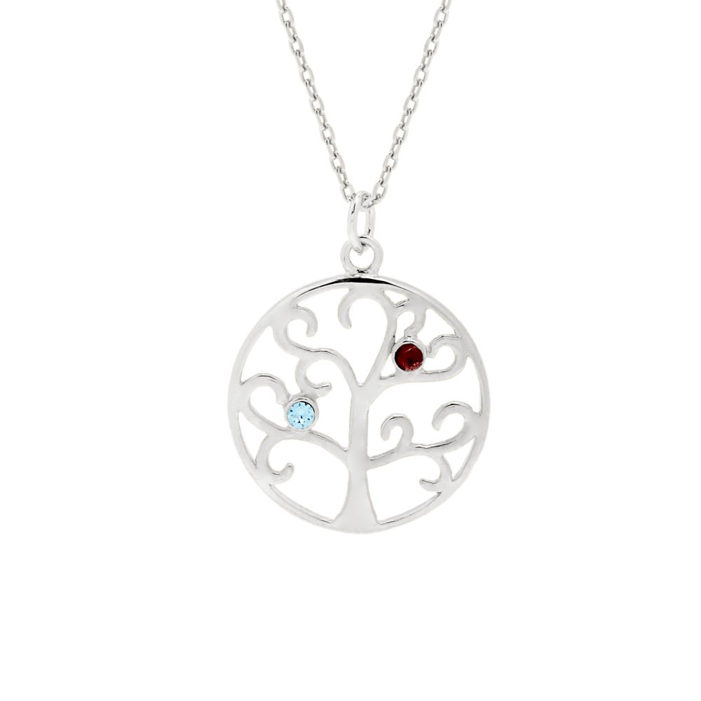the jewellers large tree silver pendant beaverbrooks p context