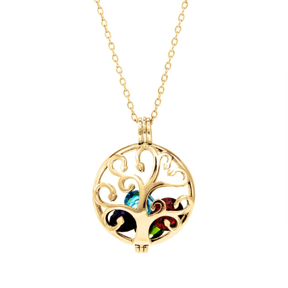 birthstone engraved disc with monogram lockets