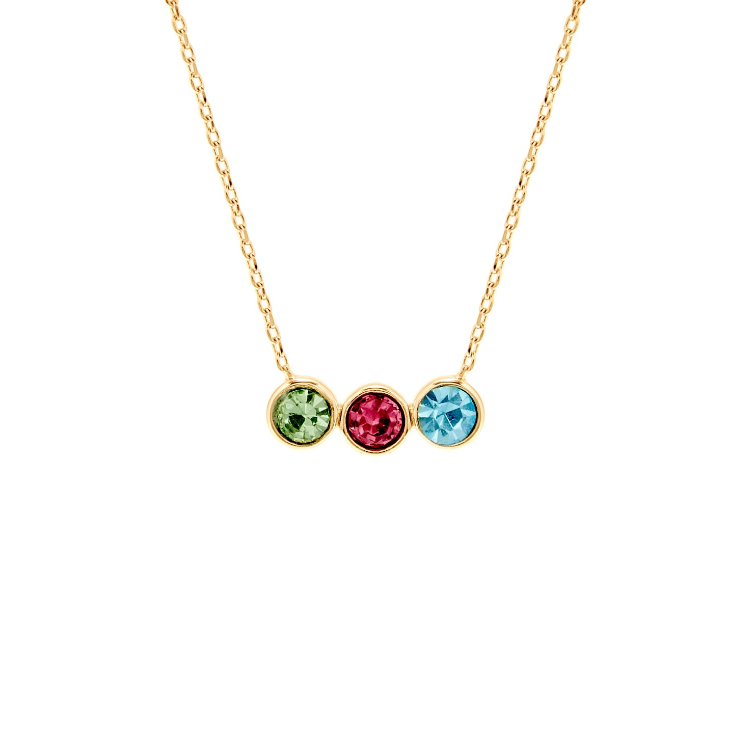 mother s com ip walmart gold birthstone circle plated necklace personalized slider