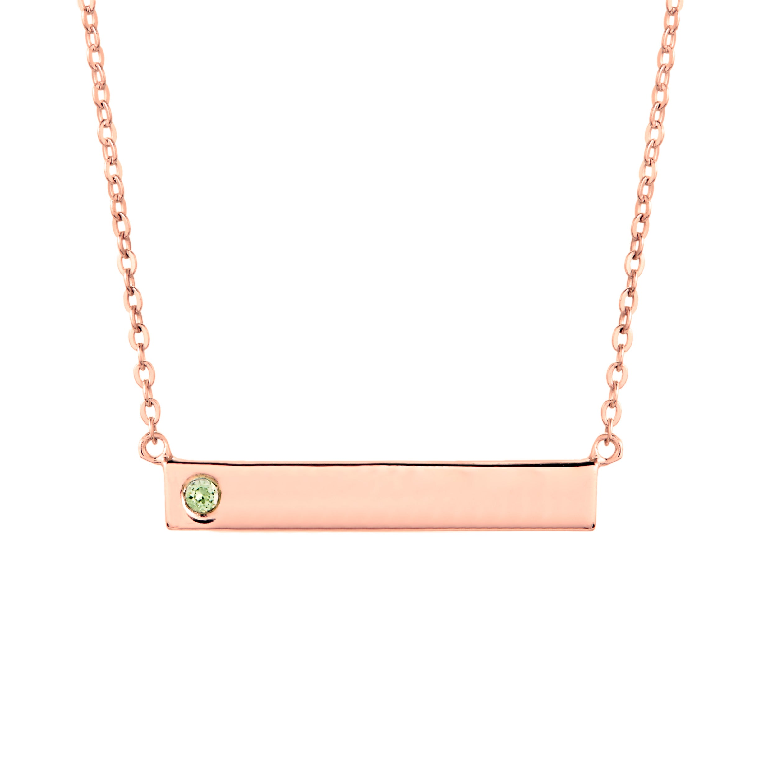 pendant necklace chain gold s bar claire