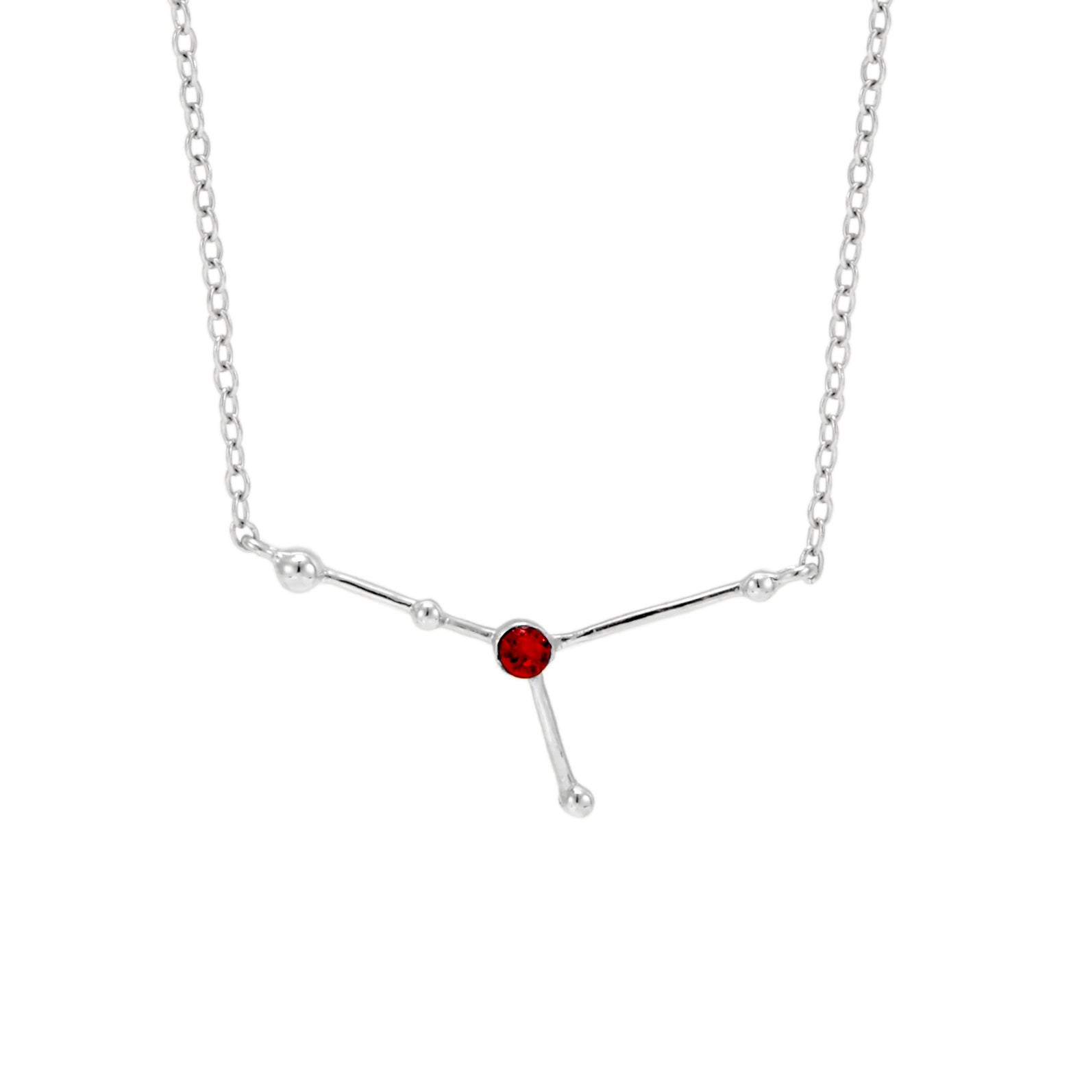 Multiple Colors Available Silver Pink Box Ms Zodiac Tag Necklace Virgo
