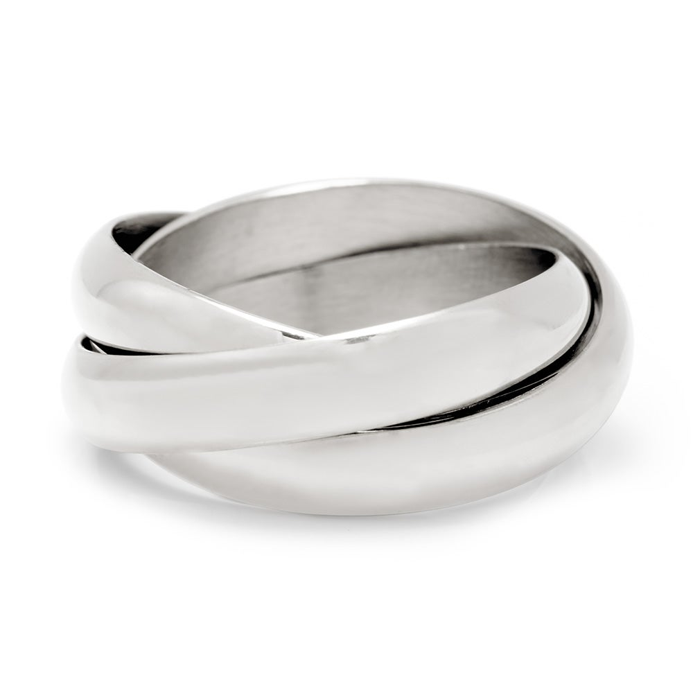 Sterling Silver Russian Wedding Ring Eve S Addiction