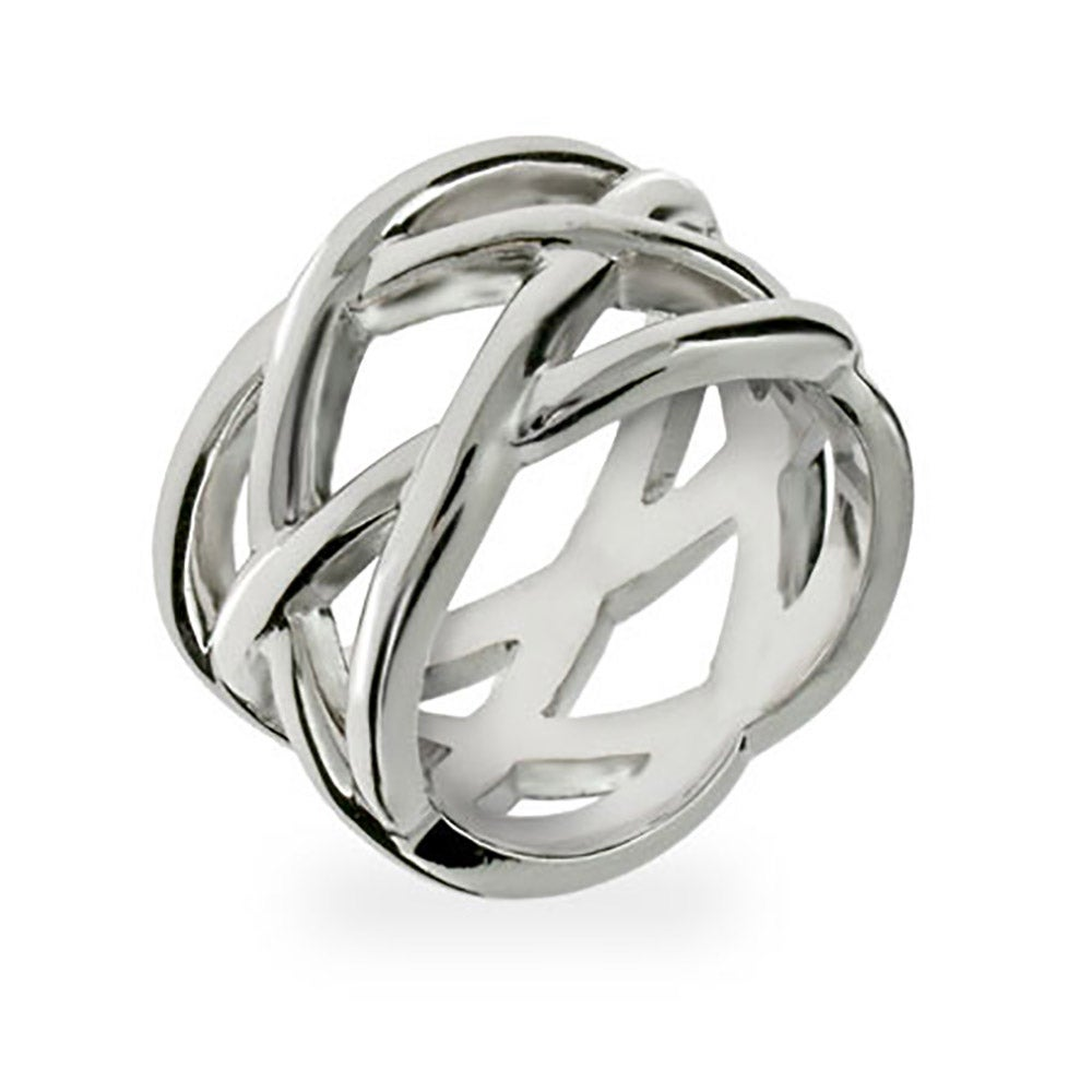 Style Sterling Silver Celtic Knot Ring | Eve\'s Addiction®