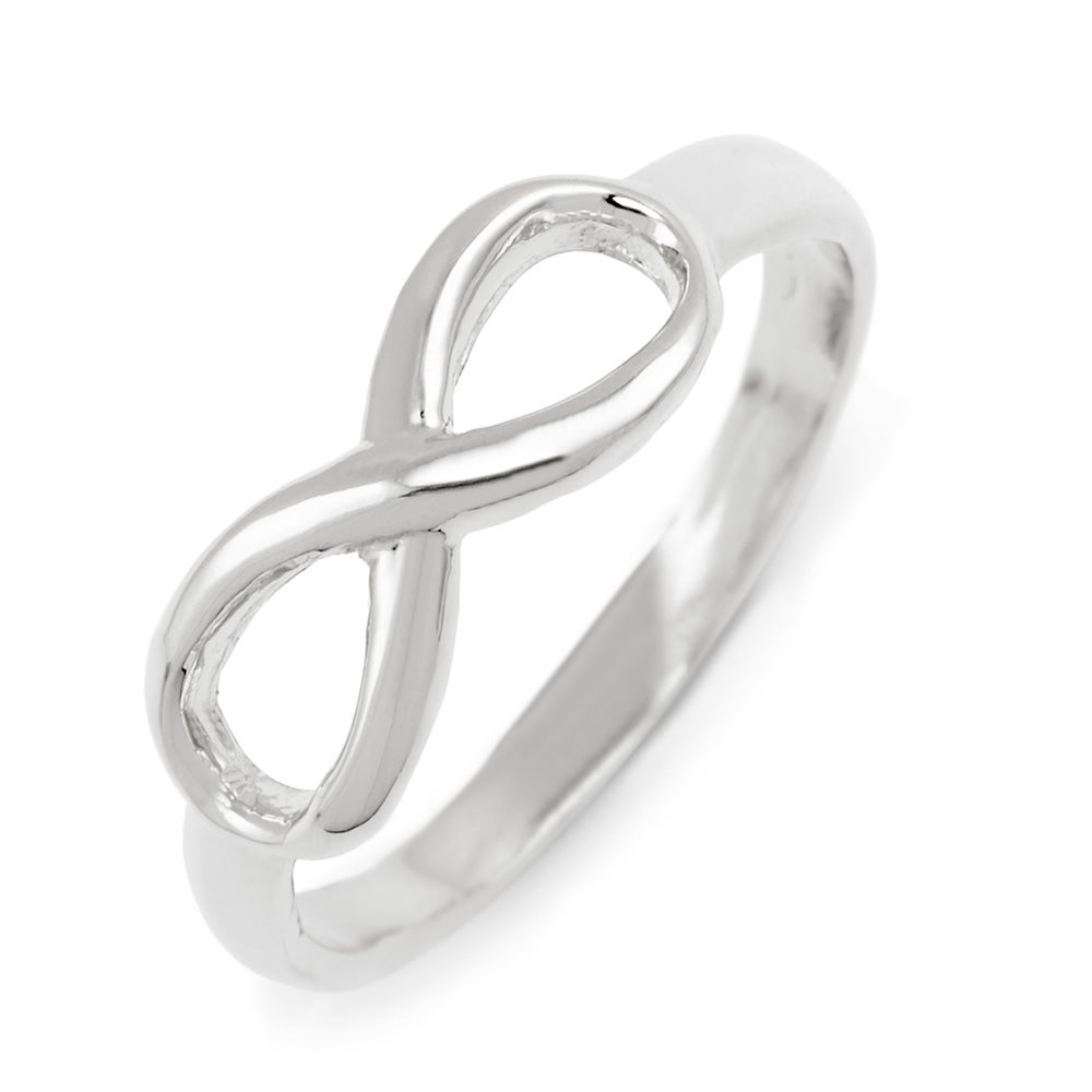 Silver infinity ring eves addiction designer style infinity ring sterling silver buycottarizona Choice Image