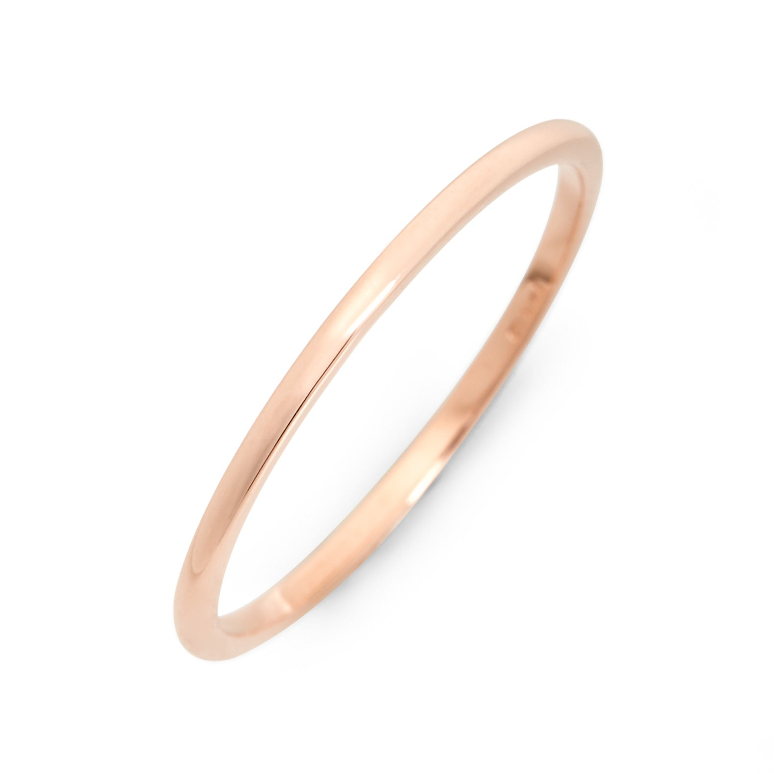 bands wedding rei dainty anna rose simple gold product lightweight thin jewellery ring band