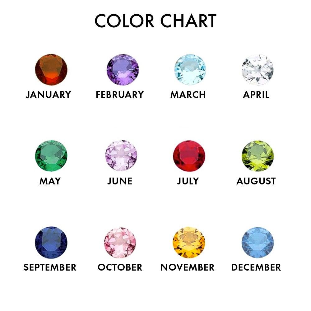 3 Birthstone Infinity Swirl Custom Mother\'s Ring   Eve\'s Addiction®